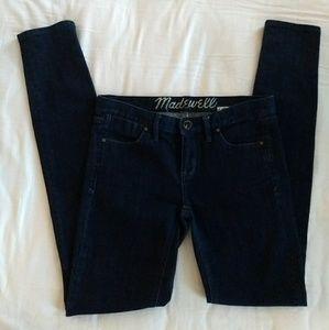 Madewell skinny jeans!